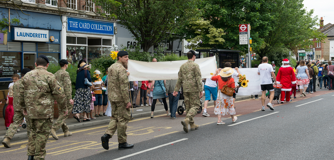 Molesey Carnival Float Parade 1st June 2013