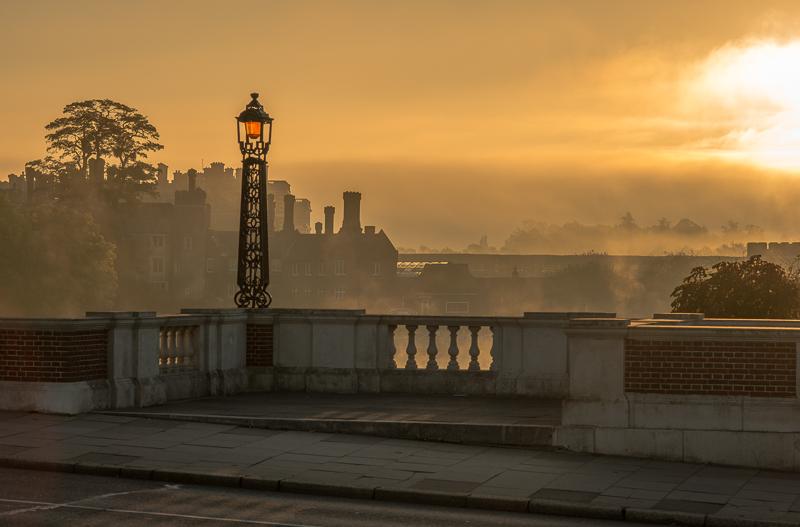 Hampton Court Sunset and Sunrise photos