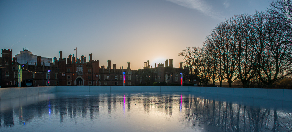 Sunrise on Ice – Hampton Court