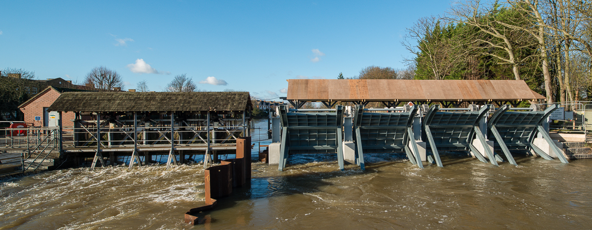 Molesey Weir – year two construction work update..