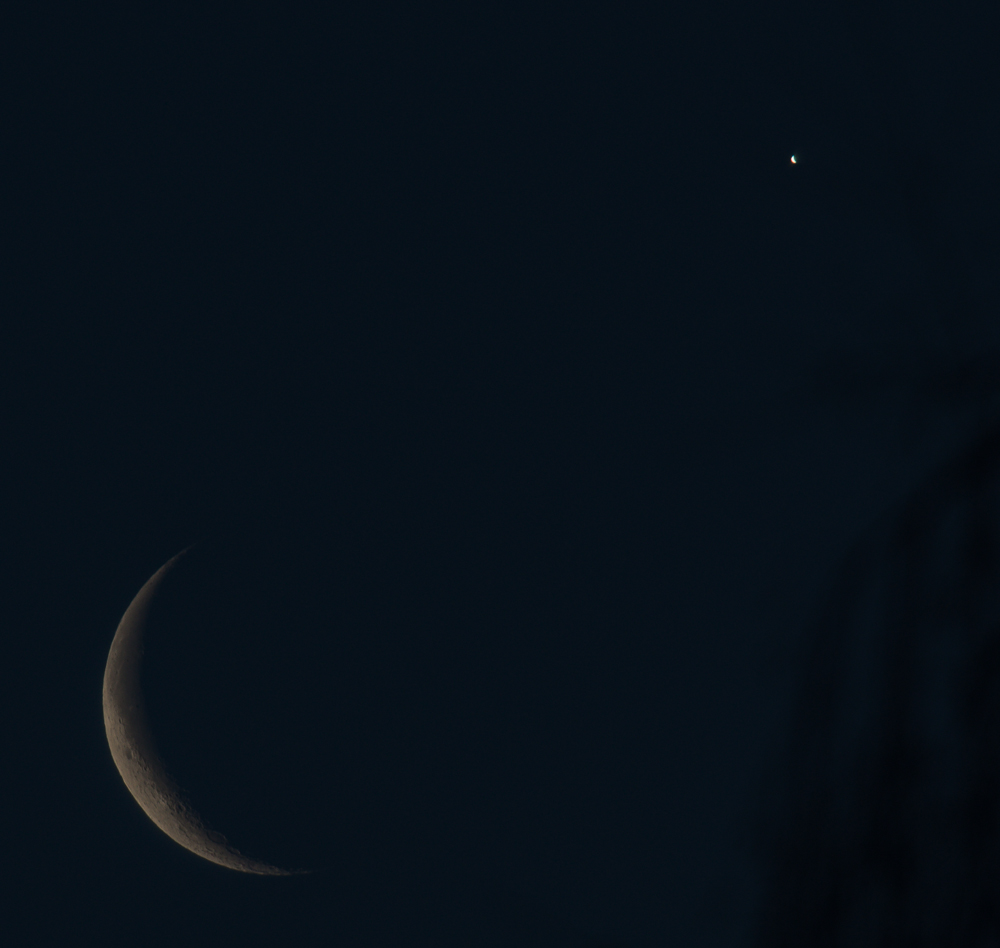 The Moon and Venus – February 26th