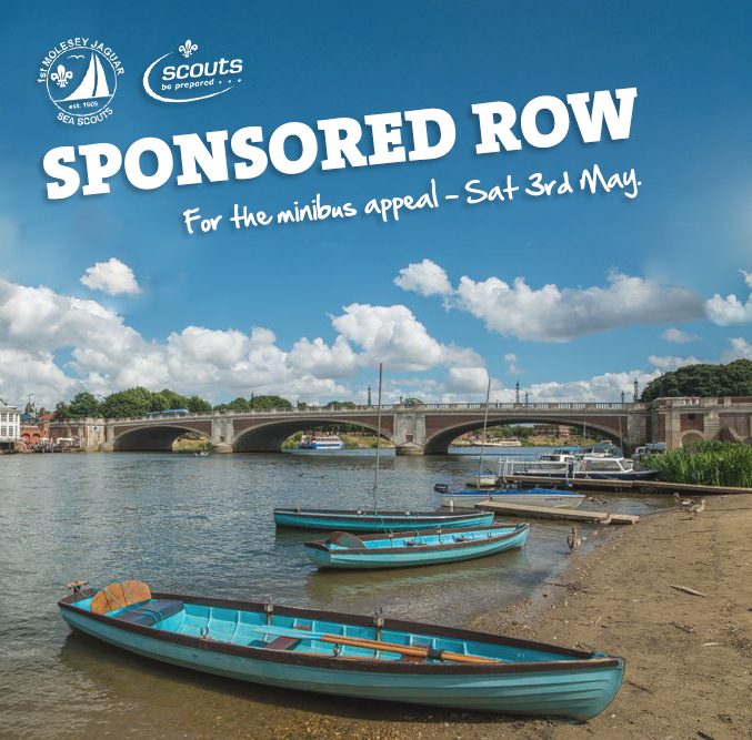 1st Molesey 'Jaguar' Sea Scout Group Sponsored Row