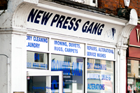 The Press Gang Dry Cleaners