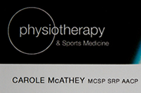 Physiotherapy and Sports Medicine
