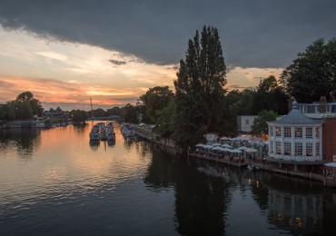 Molesey Sunset 2014