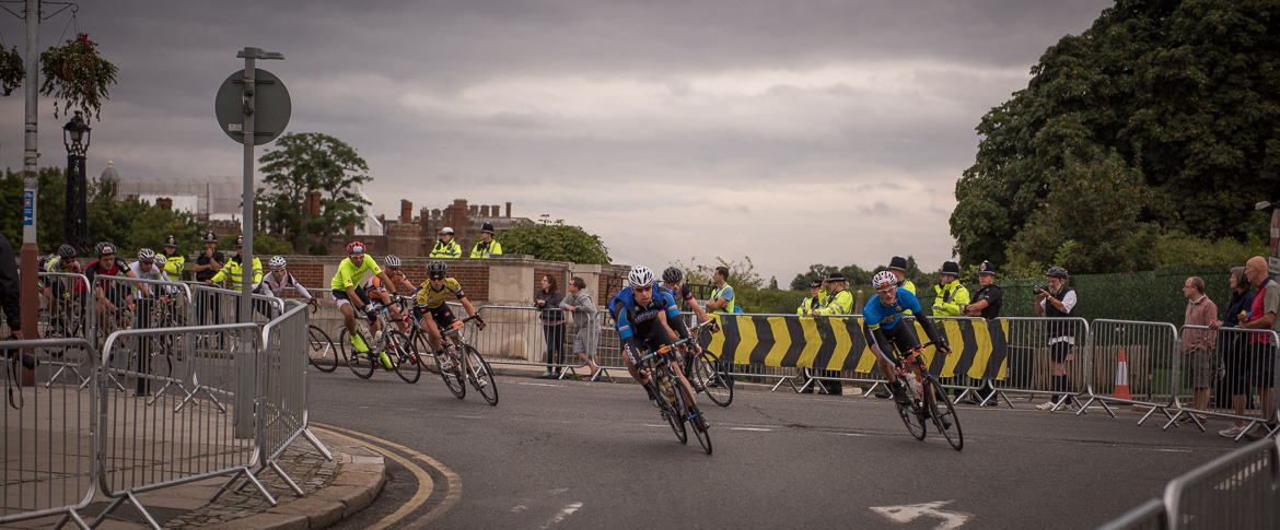 RideLondon at Hampton Court Bridge