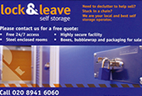 Lock & Leave Self Storage Molesey
