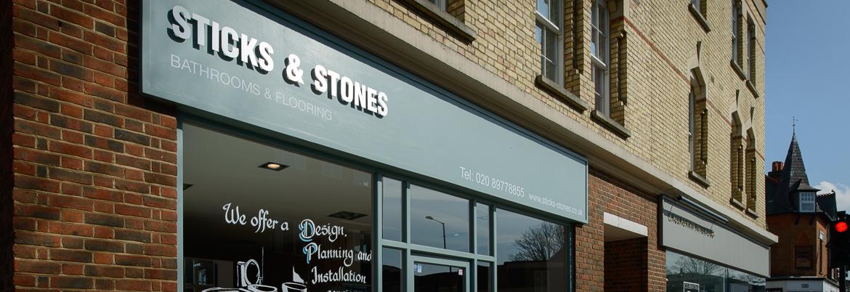 Sticks & Stones Hampton - Showroom Flooring and Bathrooms