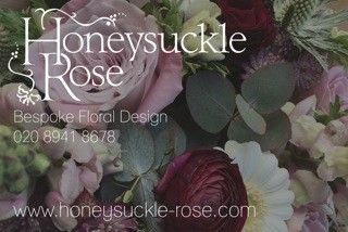 Honeysuckle Rose Bespoke Floral Design - Hampton Court