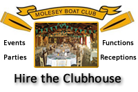 Molesey Boat Club - Clubhouse Hire East Molesey