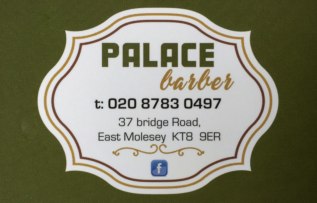Palace Barber 37 Bridge Road East Molesey