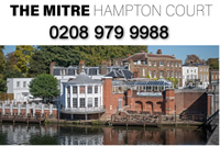 The Mitre Hotel Hampton Court - Molesey