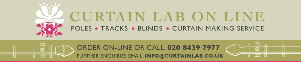 Curtain Lab high quality products including Curtain Poles, Roman Blinds