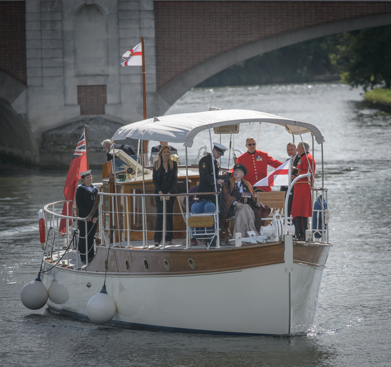 The Association of Dunkirk Little Ships at Molesey Lock