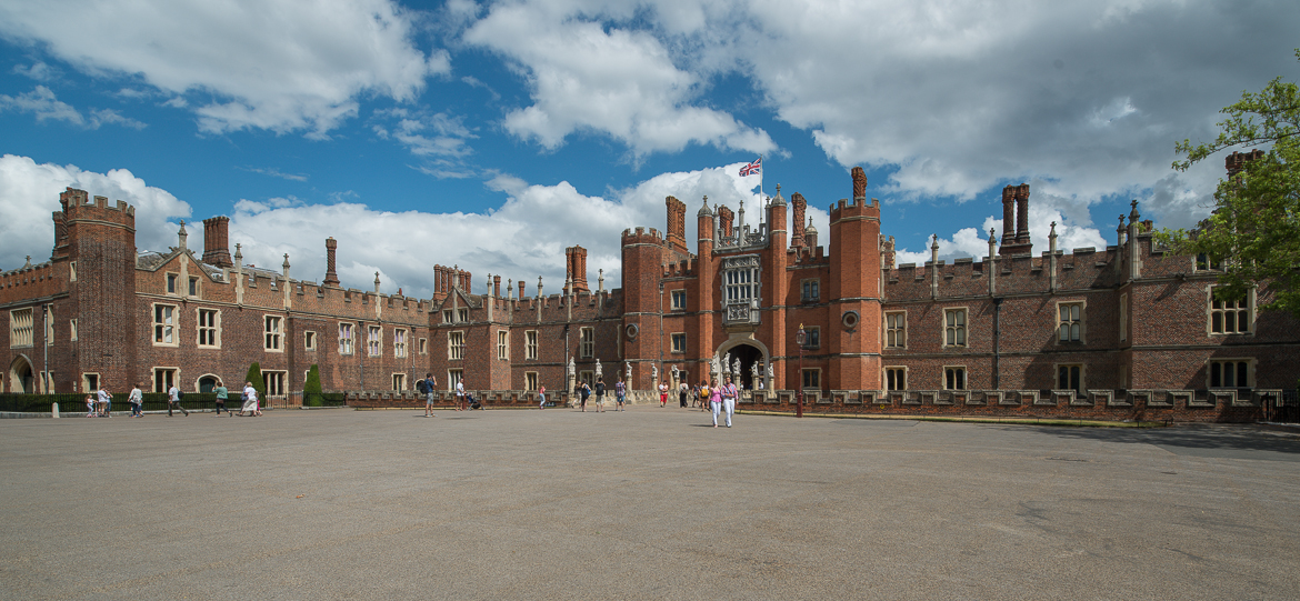 A visit to Hampton Court Palace The Triumphs of Caesar