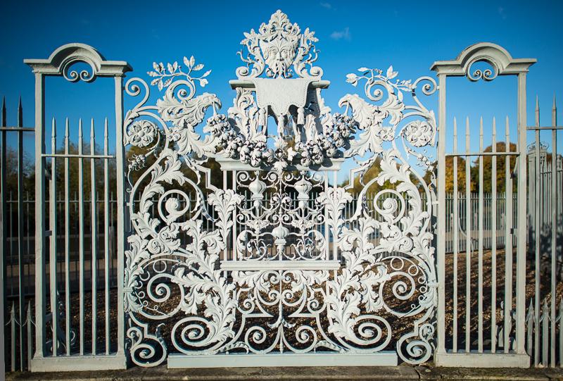 Autumn around Hampton Court Palace grounds