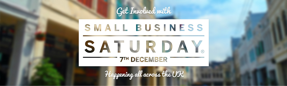 Small Business Saturday 7th December