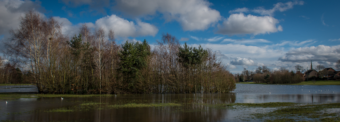 Flood photos from Molesey