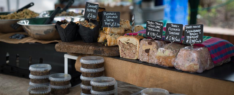 Farmers market in Molesey – Walton Road & Bridge Road