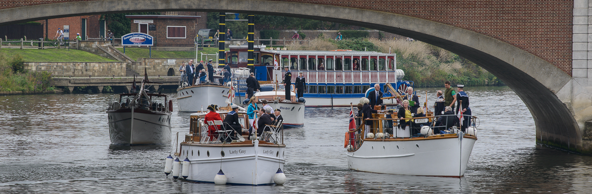 The Association of Little Ships 2014 at Molesey Lock