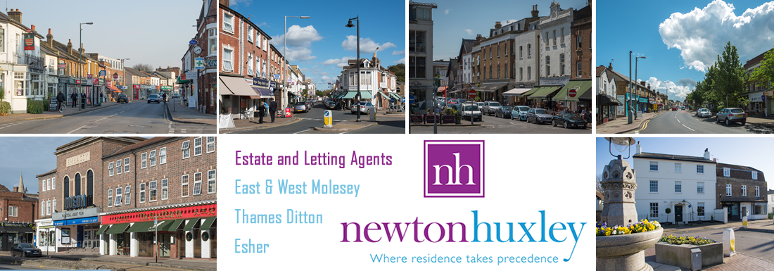 Newton Huxley - Estate and Letting Agents covering the areas of Molesey, Esher and Thames Ditton.