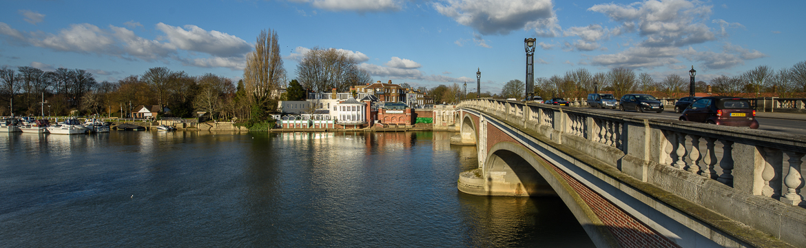 Molesey and Hampton Court area