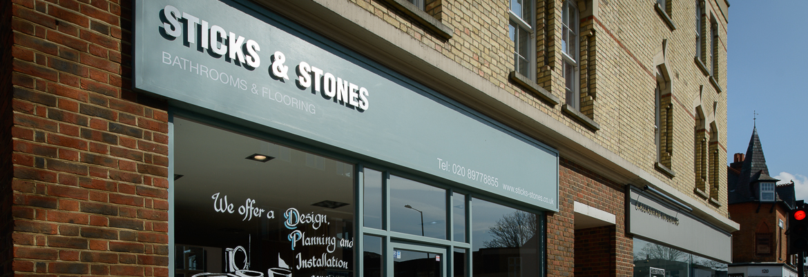 Sticks & Stones Hampton - Showroom Flooring and Bathrooms