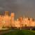 Rainbow over Hampton Court Palace