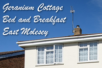 Geranium Cottage - Bed and Breakfast East Molesey
