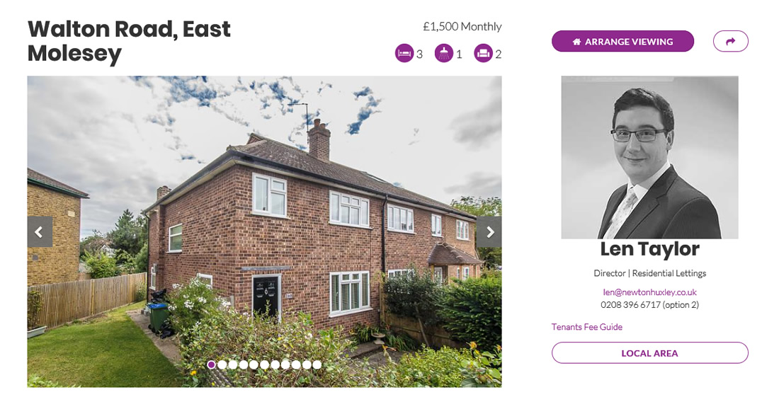 Featured Property To Let Sept 2017