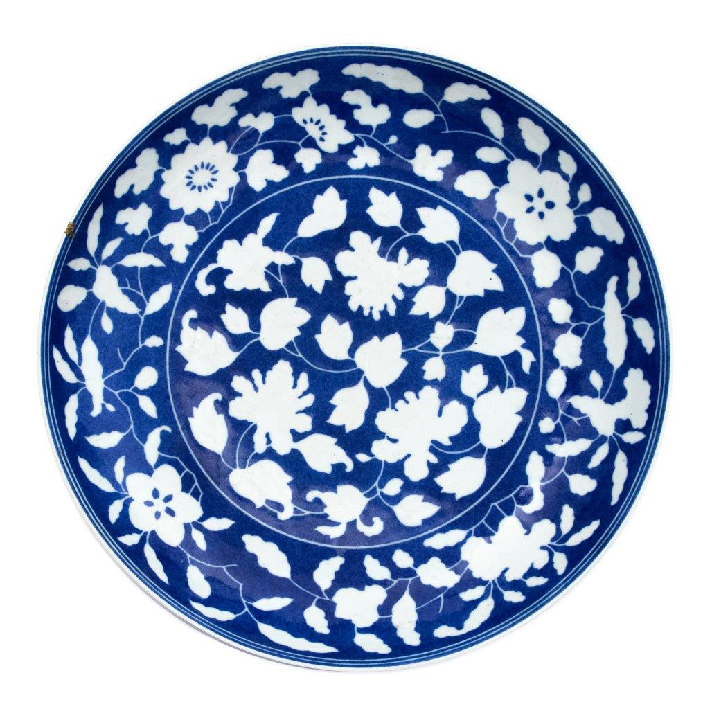 This Chinese Imperial Yongzheng plate sold for £100,000 in Hansons' September auction.