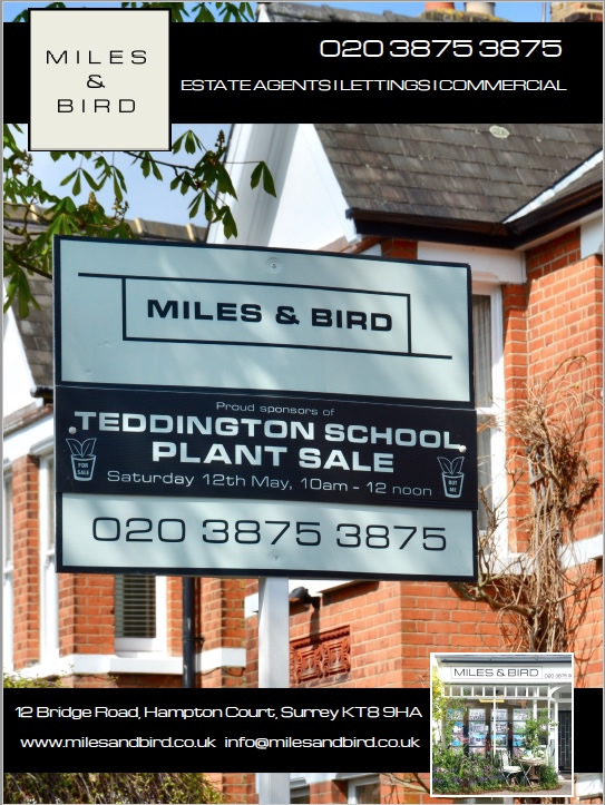 Miles Bird estate agent Teddington School