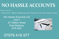 No Hassle Accounts Walton Road East Molesey
