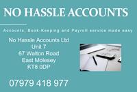 No Hassle Accounts Walton Road East Molesey